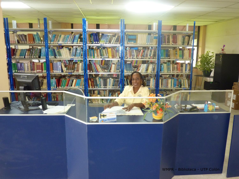 Bibliotecologa Licenciada Annela Reedway.