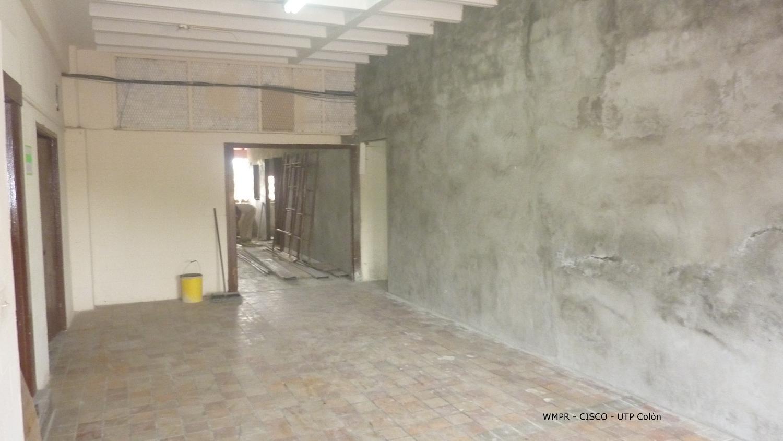 45% de la construcción de la Academia CISCO en UTP Colón.