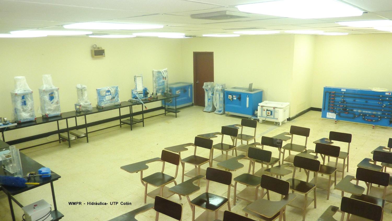 Habilitación en 98% del Laboratorio de Hidráulica.